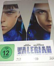 Valerian-la ciudad de los mil planetas ⭐⭐⭐⭐ Blu-ray 3d + 2d Steelbook nuevo embalaje original