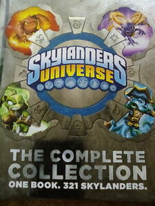 SKYLANDERS UNIVERSE THE COMPLETE COLLECTION HARD BACK BOOK