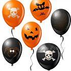 20pcs/Set Halloween Air Mylar Balloon Pumpkin Skull Halloween Party Decoration