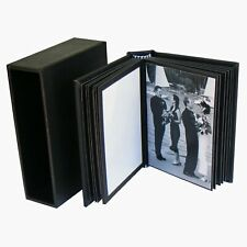 "PortoBella  Black DIY Portfolio Album 20 photos 3½""x2½"" Small Photo Book"