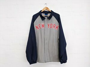 MLB New York Yankees Coach Baseball 90s Jacket Adidas Mens XXL