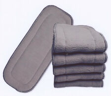 15X Charcoal Inserts for Modern Cloth Nappy 11x28cm