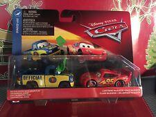 Disney Pixar Cars 3 Dexter Hoover & Lightning McQueen Dinoco 400 2 Pack!