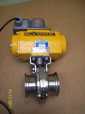 EL-O-MATIC ACTUATOR ES0100.U1A04A.19K0 & STONEL ECLIPSE QUARTZ VALVE EN33C02RA