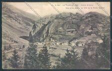 Aosta La Thuile cartolina ZQ4837