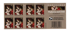 5331 Madonna & Child By Bachiacca (PANE of 8 & End Cap READY TO MOUNT) MNH