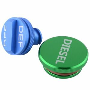 Diesel Fuel Tank Caps DEF Cap Aluminum for 2013-2018 Dodge Ram 2500 3500 Cummins