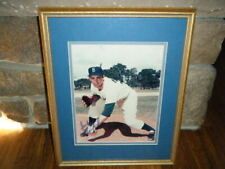 SANDY KOUFAX FRAMED MATTED 8 X 10 AUTOGRAPHED SIGNED BROOKLYN DODGERS VINTAGE!!