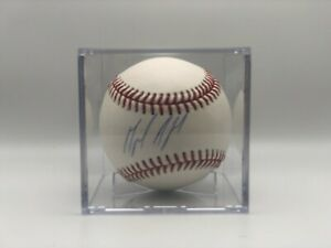 New York Yankees Miguel Andujar Signed Baseball w/COA (Steiner)
