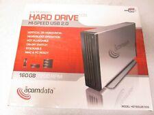 Acomdata 160GB 7200 RPM External Hard Drive Hi-Speed USB 2.0 HD160U2U2E-509 New