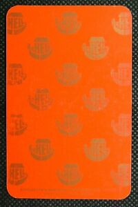 1 x Playing card single swap Kingsdown Brewery Swindon 5 Hearts Y494