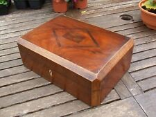 ANTIQUE JEWELLERY BOX SUPER QUALITY with lift out tray