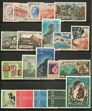 MONACO - Timbres Année 1971 N° 847 à 866 Neufs**