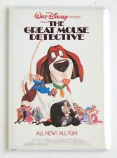 The Great Mouse Detective FRIDGE MAGNET (2.5 x 3.5 inches) movie poster style A