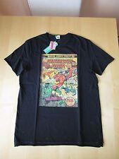 Benetton maglietta nera Marvel Comics Supereroi taglia 2XL 11-12 anni