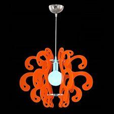 Lampadario in Plexiglass Sospensione Stile Moderno Vari Colori Soggiorno Camera