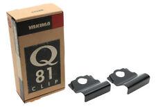 Yakima Q81 Q Tower Clips w/ B Pads & Vinyl Pads #00681 2 clips Q 81 NEW in box