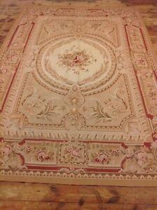 Wunderschöner Orientteppich Aubusson (306 X 201 CM ) handgeknüpft  Top Zustand