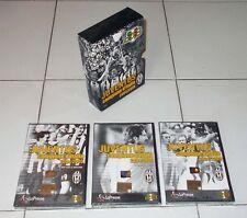 Box 3 Dvd JUVENTUS CAMPIONE D'ITALIA 2004-2005 NUOVO Scudetto 28 ufficiale
