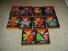 LOT OF 10 ODYSSEY 2 VIDEO GAMES WITH BOXES AND INSTRUCTON BOOKLETS L@@K!