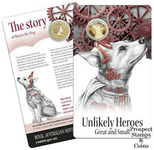 2015 Unlikely Heroes Great and Small - Horrie the Dog - Australian UNC coin