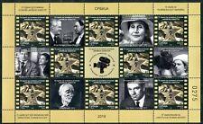 "1455  SERBIA 2019 - 75 Years of ""Filmske novosti"" Newsreel - Movie - MNH Sheet"