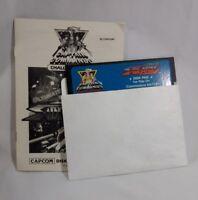 Captain Commando Side Arms Capcom Game Commodore 64 128 C64  Untested