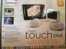 NEW! Summer Infant Baby Touch Plus MONITOR// Camera # 28620 BIN