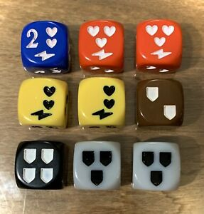 Descent Journeys In The Dark Dice Pack Set of 9 (Great Condition, Rare OOP)
