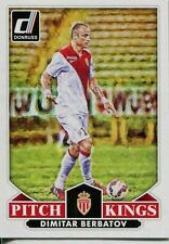 Donruss Soccer 2015 Pitch Kings Chase Card #6 Dimitar Berbatov