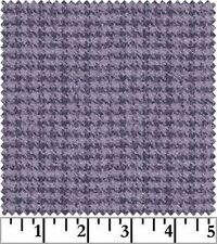 Shadow Play  Woolies  Flannel - Violet Houndstooth F18503-V