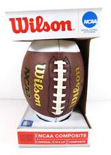 2013 Wilson Ncaa Composite Official Football in box