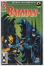 BATMAN #510   Vol. 1   Knights End   DC Universe Logo Variant   HTF   1994   VF+