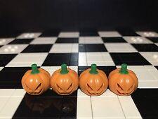 Lego Jack O Lanterne Pour Minifigures X4/Scooby Doo 75901/Pumpkin Head