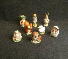 Beatrix Potter Lot De 8 Figurines Animaux Ceramique Royal Doulton Warne
