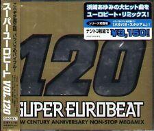 SUPER EUROBEAT VOL.120 NEW CENTURY ANNIVERSARY NON-STOP MEGAMIX - Japan 3 CD NEW