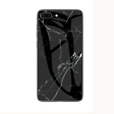 Classic Marble Stone Tempered Glass Hard Case For iPhone XS MAX 6 6S 7 8 Plus XR