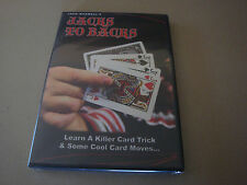 Jacks To Backs By Jack Maxwell Dvd Learn Magic Card Tricks & Moves Sleights