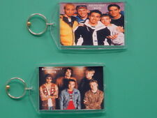 Backstreet Boys - with 2 Photos - Designer Collectible Gift Keychain