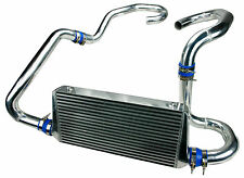 TOYOSPORTS FRONT MOUNT INTERCOOLER KIT FOR 93-01 SUBARU IMPREZA WRX STI GC8 BLUE