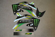 ONE IND.  MONSTER GRAPHICS HONDA  2010  11  12 CRF250R & CRF450R 2009 10 11 12