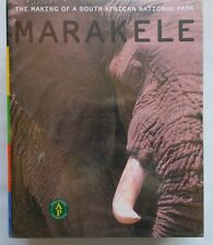 Rare - MARAKELE-The Making of a South African National Park-plus DVD -NEW,Sealed