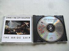 Crime + The City Solution – The Bride Ship  1989