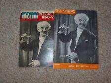 2 Blackstone Sr Magazines Sphinx 1946 Genii 1957