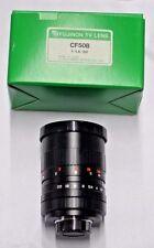 Fujinon CF50B 1:1.4 / 50 TV lens