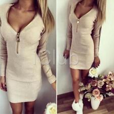 Vestiti da donna stretch beige taglia S