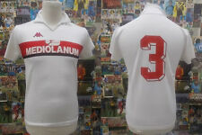 maglia calcio shirt maillot camiseta trikot MILAN MATCH WORN