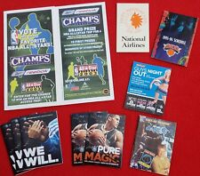 College & NBA Schedule & Ephemera Lot Of 10 Great Items - 2003 All-Star Ballot