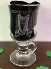Clear Glass Irish Coffee Mug, 8 oz.