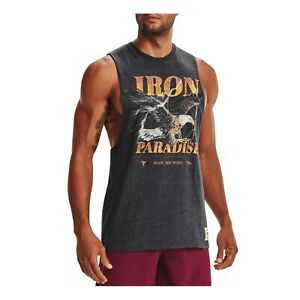 Under Armour Men's Project Rock Graphic UA Training Outlaw Tank Top 1369609-001